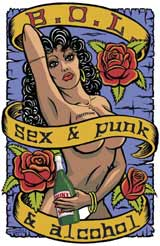 Punk, Sex & Alcohol - Tape